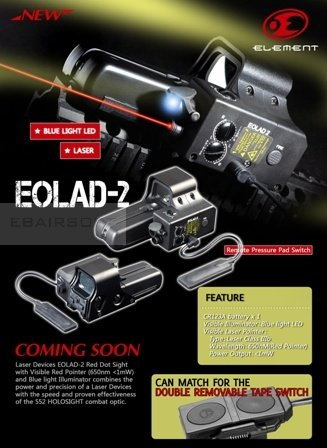 552 dot combo color con EOLAD device