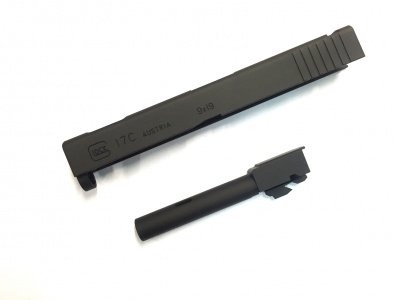 5ku Carrello e canna Glock17 Black