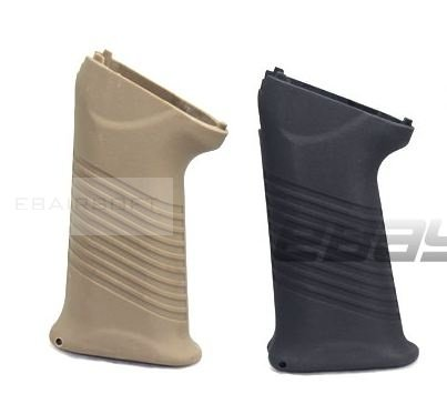 AK saw pistol grip black/tan