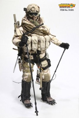 Action Figure U.S. NAVY SEAL POLAR MOUNTAIN STRIKER 1:6