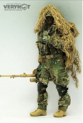 Action Figure US ARMY Sniper 1:6