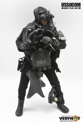 Action Figure USSOCOM NAVY SEAL UDT 1:6