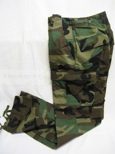 BDU Woodland pants Small Short