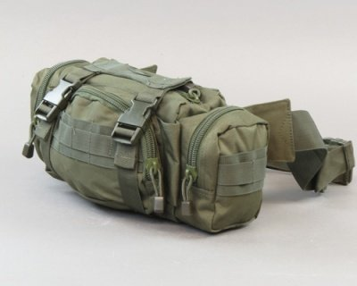 Buttpack pouch Olive