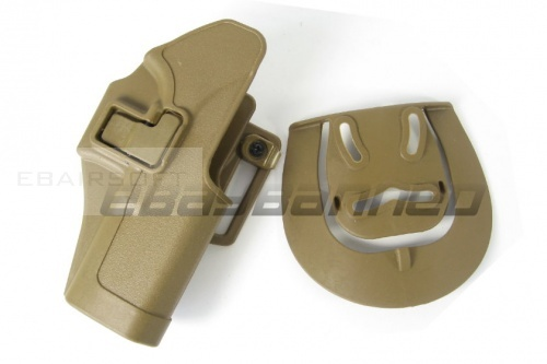CQC Holster for Glock 17 22 tan