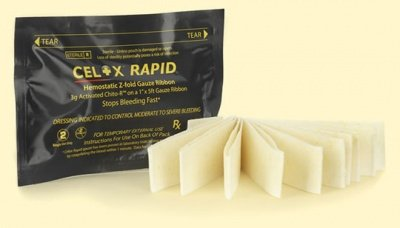 Celox Z Fold Rapid Ribbon