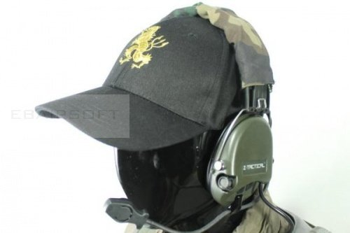 Combat Cap Devgru Gold Lion (Black)
