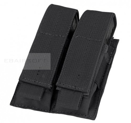 Condor 9mm 2x mag pouch Black
