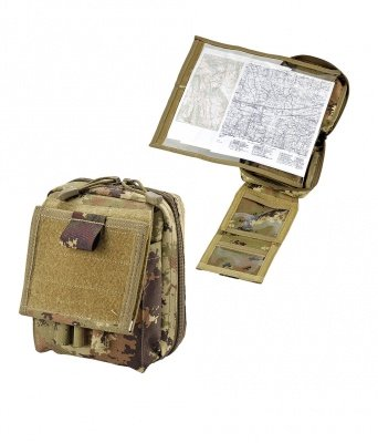 DEFCON 5 MOLLE MAP POUCH OD GREEN