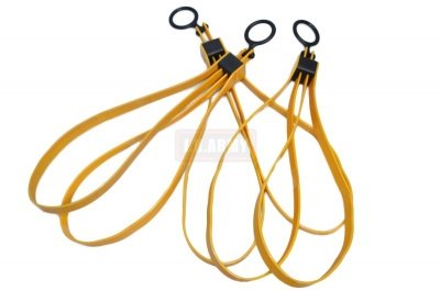 FFI Plastic Fold Handcuff Restraint ( Yellow ) ( 3pc )
