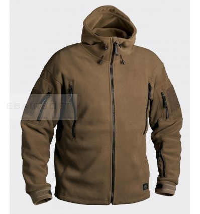 Helikon Patriot Heavy Fleece Jacket Coyote