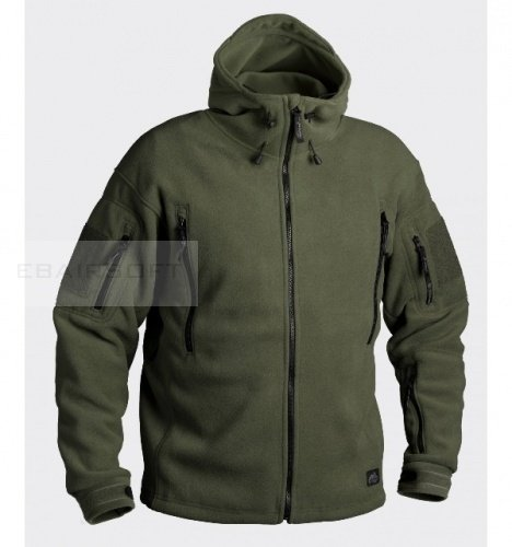 Helikon Patriot Heavy Fleece Jacket Olive Drab