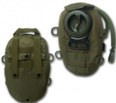 Hydration pack olive 1,5L