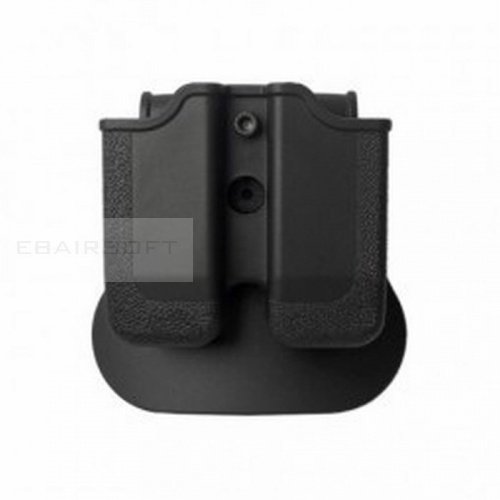 IMI DEFENCE Double Mag Pouch m92 Black