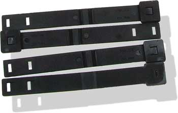 James Packet of 4 Short Malice Clips Black
