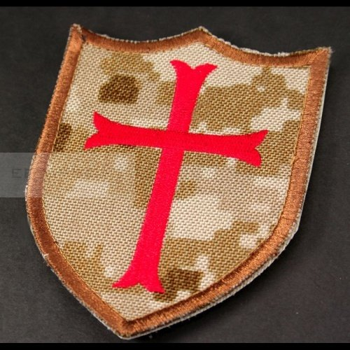 Knights big velcro patch AOR1