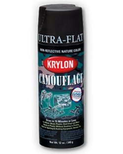 Krylon Military spray Black