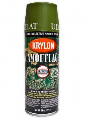 Krylon Military spray Light Green