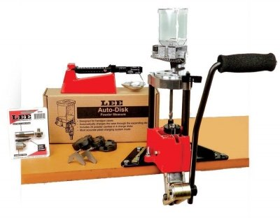 Lee Kit Pressa Deluxe Turret a 4 fori