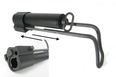 M231 Extendable Stock for M4