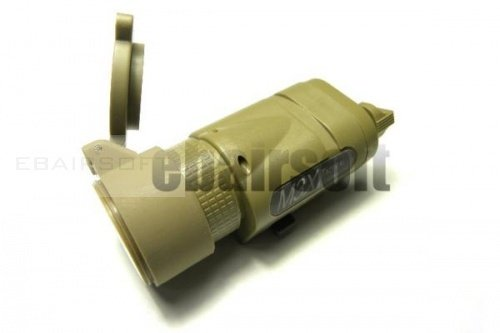 M3x flashlight short tan