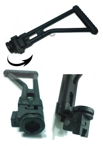 M4 M16 Side Foldable Crane Assault Stock