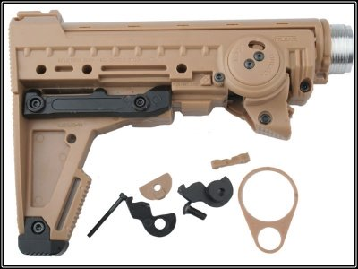 M93B stock per WA/AGM/PTW tan
