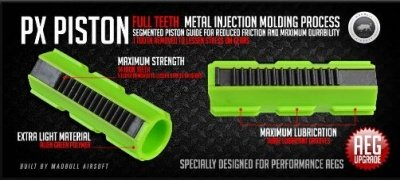 MADBULL PISTONE PX02 - FULL TEETH