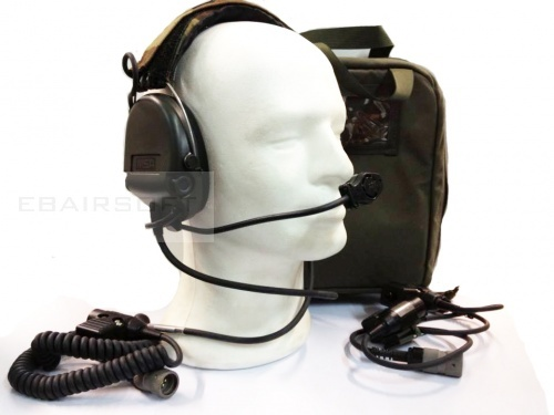 MSA SORDIN SUPREME PRO HIGH NOISE HEADSET DUAL COM KIT