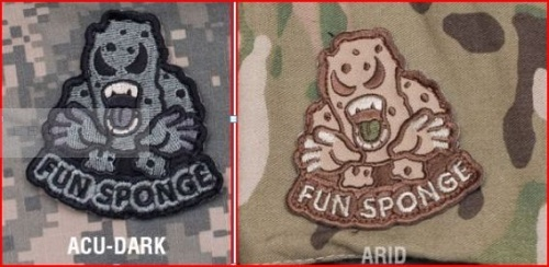 MSM Fun sponge patch Colore: ACU