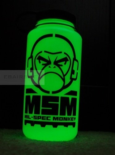 MSM Nalgene bottle Glow