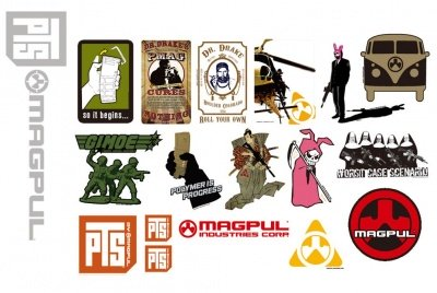 Magpul PTS Sticker Pack