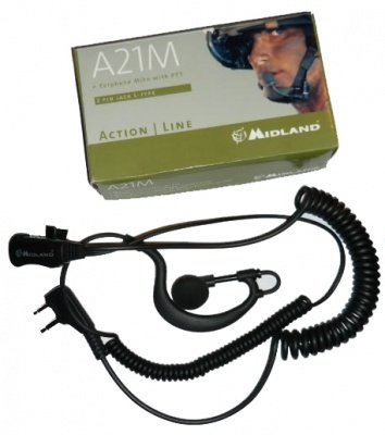Midland auricolare Action A21M