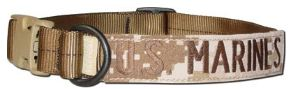 Mil-Spec K9 Dog Collar Nametape Multicam copia