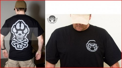 Mil-Spec Monkey shirt  K9 logo