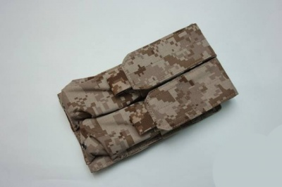 BTG Mp7 double mag pouch AOR1
