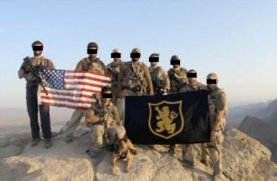 Devgru Gold Team Flag