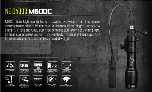 Night Evloution M60C Scout Light