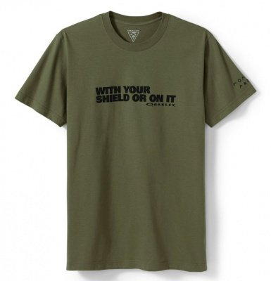 Oakley With Your Shield t-shirt OD