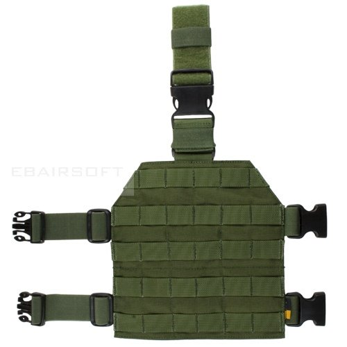 PANTAC Molle drop leg panel TAN/OD/CB