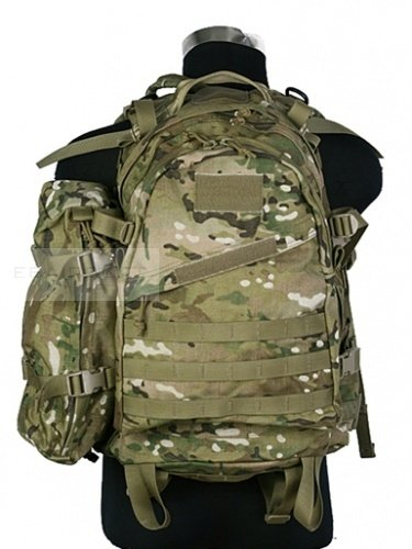 Pantac 3 day assault backpack with additional pack Multicam® CP™