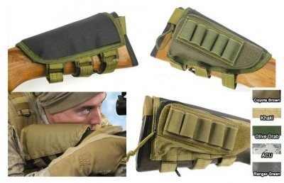 Pantac Cheek pad for rifle OD/TAN/CB