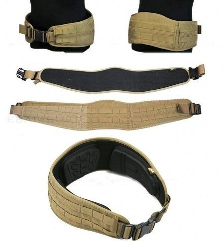 Confort blast belt  in Cordura® 1000 denari by Invista™