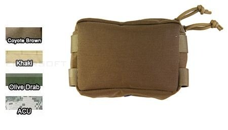 Pantac Small utility pouch od  in Cordura® 1000 denari by Invista™