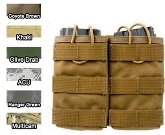 Pantac Universal double mag pouch TAN/OD/MCAM/CB/ACU