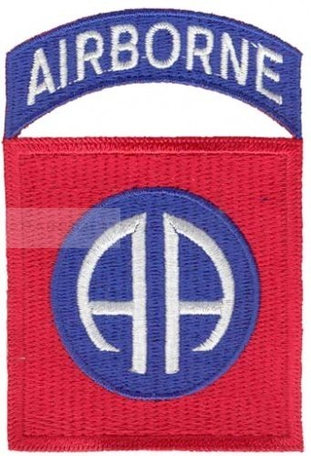 Patch 82nd Division Airborne