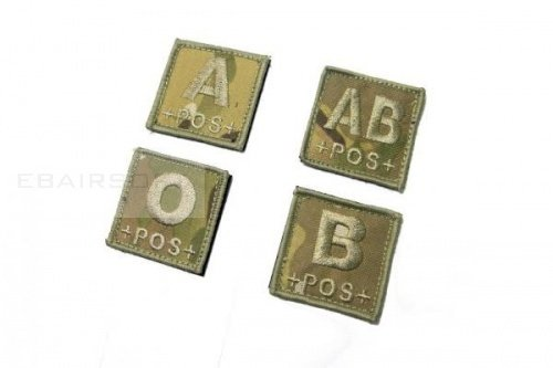 Patch Blood Type Multicam