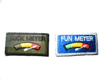 Patch meter