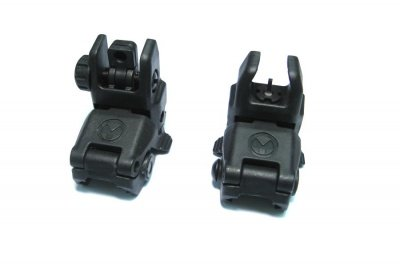 Polymer sight Black front and rear
