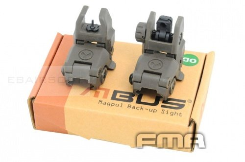 Polymer sight OD front and rear